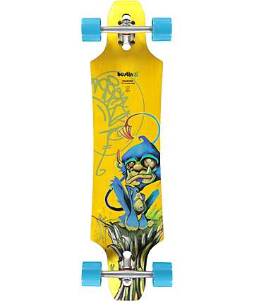 "Bustin Maestro Bustin Boar 37.5"" Drop Through Longboard Complete"
