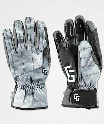 CG Habitats Park Black Aura Snowboard Gloves