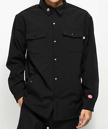 CG Habitats Work Shirt Black 10K Tech Fleece Jacket