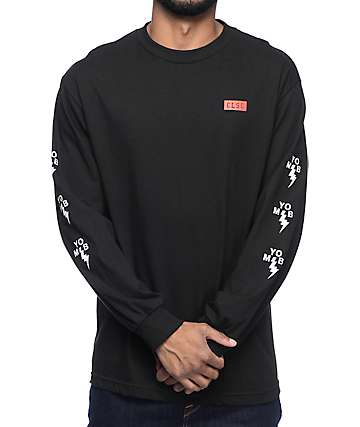 CLSC Business Black Long Sleeve T-Shirt