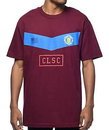CLSC Centro Burgundy T-Shirt