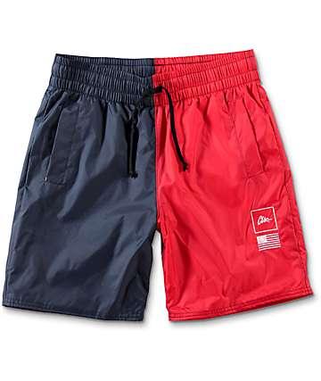 CLSC Ceremony shorts en rojo y azul marino
