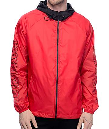 CLSC Forrest Red Wind Breaker Jacket