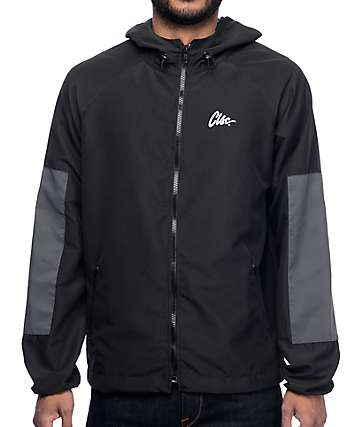CLSC Movement Black Windbreaker Jacket