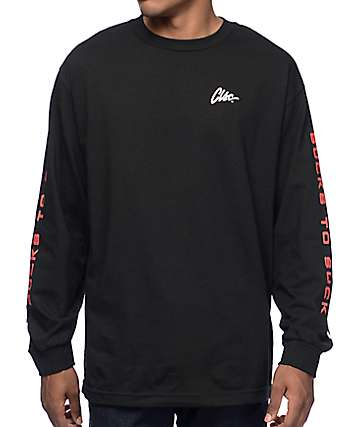 CLSC PS-89 Black Long Sleeve T-Shirt