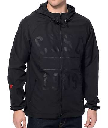 CLSC Physical Black Windbreaker Jacket