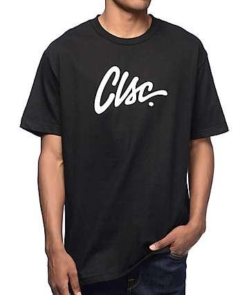 CLSC Script Black T-Shirt