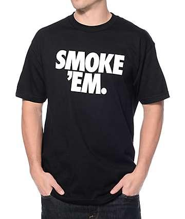 CLSC Smoke Em Black T-Shirt