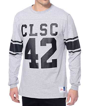 CLSC Wildcoat Heather Grey Knit Football Jersey