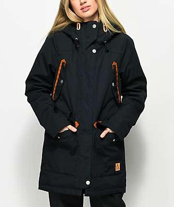 CLWR Range Black Parka Snowboard Jacket
