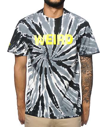 Cake Face PDX Keep Weird Tie Dye T-Shirt