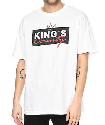 Cake Face Sea Kings County White T-Shirt