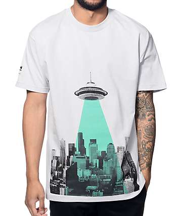 Cake Face Sealiens Grey T-Shirt
