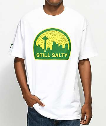 Cake Face WA Still Salty White T-Shirt
