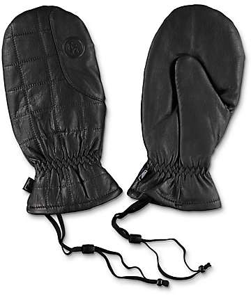CandyGrind Game Changer Black Snowboard Mittens