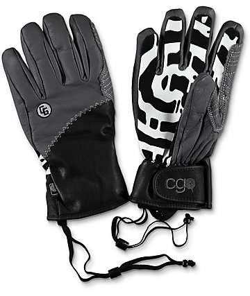 CandyGrind Park Grey Snowboard Gloves