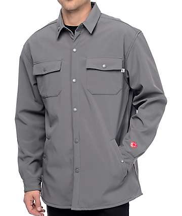 CandyGrind Work Shirt Grey Jacket