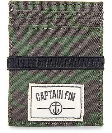 Captain Fin Co. MO Camo Cardholder Wallet