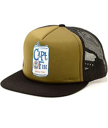 Captain Fin Drink Fun Trucker Hat