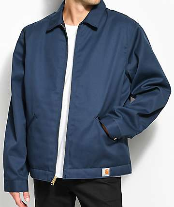 Carhartt Blended Twill Navy Work Jacket