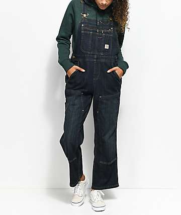 Carhartt Dark Denim Overalls
