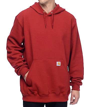 Carhartt Mediumweight Red Hoodie