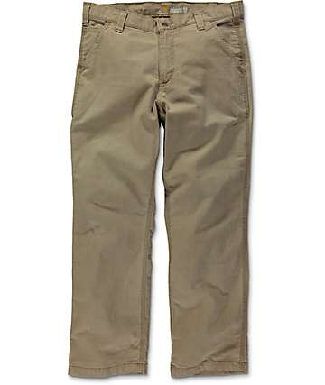 Carhartt Rugged Flex Rigby Dark Khaki Dungaree Pants