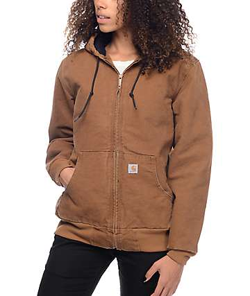 Carhartt Sandstone Active Brown Womens Jacket