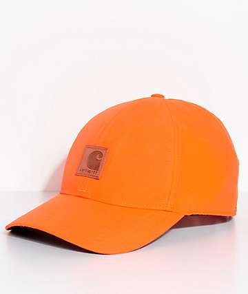 Carhartt Upland Orange Strapback Hat