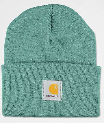 Carhartt Watch Blue-Green Beanie