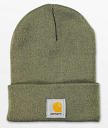 Carhartt Watch gorro tejido color madera