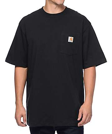 Carhartt Workwear Black Pocket T-Shirt
