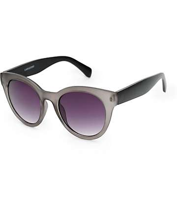 Carissa Grey Crystal Cateye Sunglasses