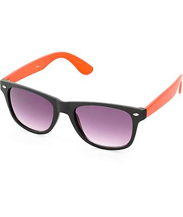 Cash Black & Red Classic Sunglasses