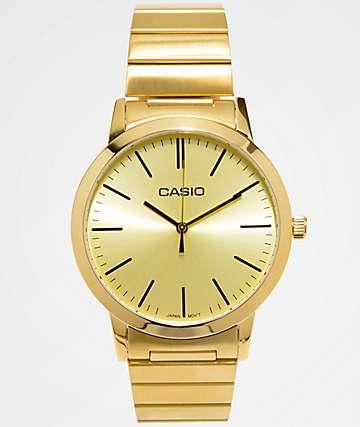Casio Vintage All Gold Analog Watch