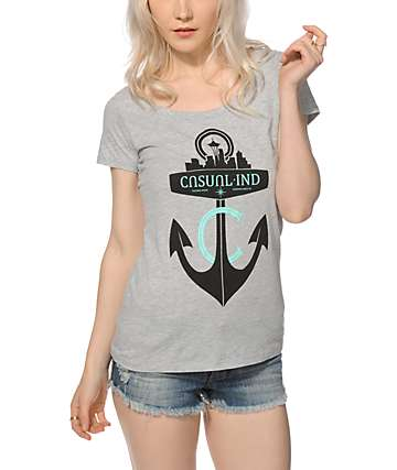 Casual Industrees Anchor T-Shirt