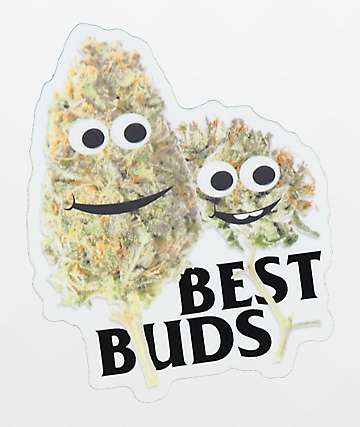 Casual Industrees Best Buds Sticker