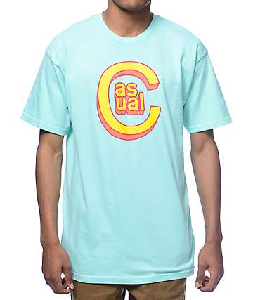 Casual Industrees C-Logo 3D Mint T-Shirt