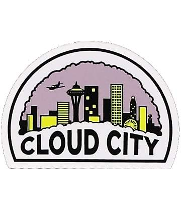 Casual Industrees Cloud City Sticker