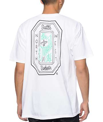 Casual Industrees Emerald Script T-Shirt