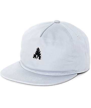 Casual Industrees Johnny Tree Mini Grey Strapback Hat