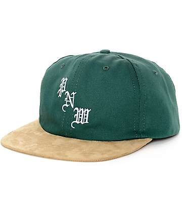 Casual Industrees Kingfischer Dark Green Unstructured Hat
