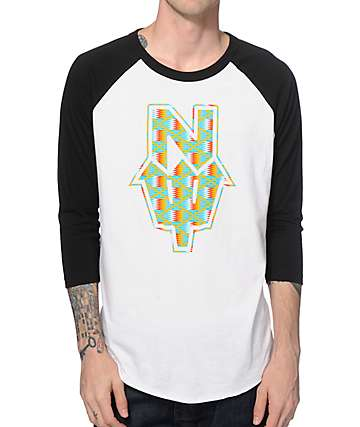 Casual Industrees N Dub Kente Baseball T-Shirt