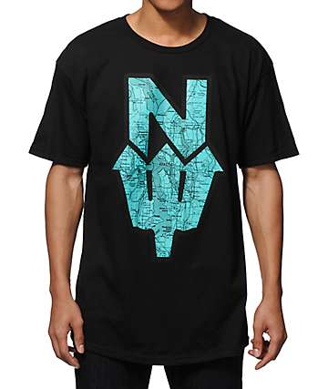 Casual Industrees NDub Map T-Shirt