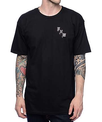 Casual Industrees NW Kingficsher Black T-Shirt
