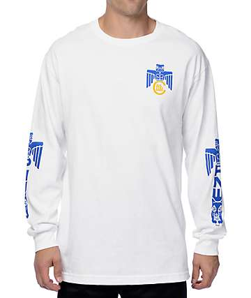 Casual Industrees NW PNW Totem White Long Sleeve T-Shirt