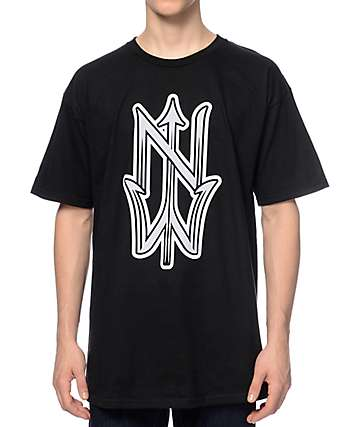 Casual Industrees NW Trident Black T-Shirt