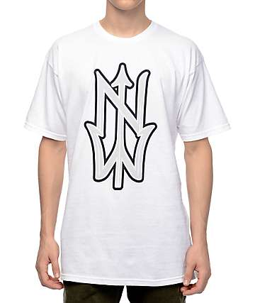 Casual Industrees NW Trident White T-Shirt