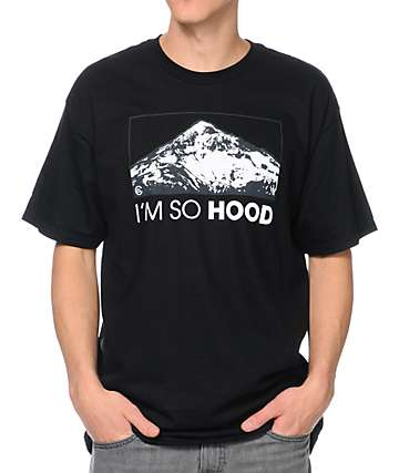 Casual Industrees OR Im So Hood Black T-Shirt