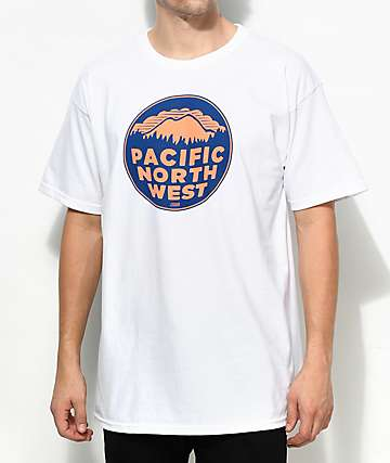 Casual Industrees PNW 2 Color camiseta blanca